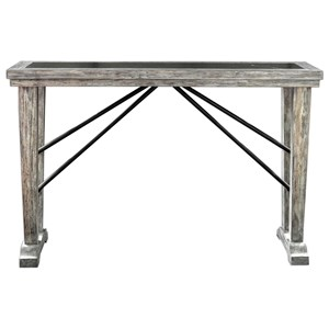 Uttermost Accent Furniture Chanler Driftwood Console Table