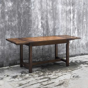 Uttermost Accent Furniture Fairbanks Oak Cafe Table