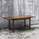 Uttermost Accent Furniture Fairbanks Oak Cafe Table