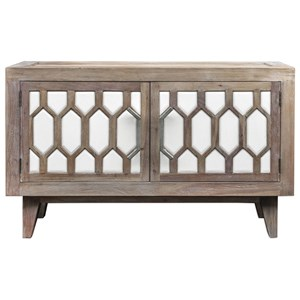 Uttermost Accent Furniture Oliver Wooden Retro Media Console