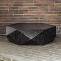 Uttermost Accent Furniture Volker Worn Black Coffee Table