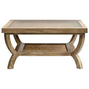 Uttermost Accent Furniture Cameron Oak Coffee Table
