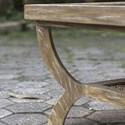 Uttermost Accent Furniture Cameron Oak Coffee Table