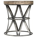 Uttermost Accent Furniture Ranier Industrial Accent Stool - Item Number: 25836
