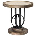 Uttermost Accent Furniture - Occasional Tables Sydney Light Oak Accent Table - Item Number: 25841