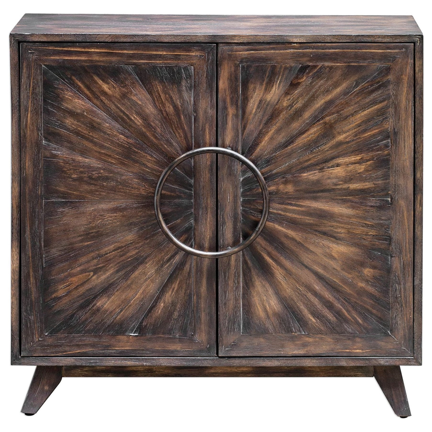 Accent Furniture - Chests Kohana Black Console Cabinet by Uttermost at Del Sol Furniture