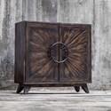 Uttermost Accent Furniture Kohana Black Console Cabinet