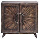 Uttermost Accent Furniture Kohana Black Console Cabinet - Item Number: 25842