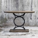 Uttermost Accent Furniture Wynn Industrial Console Table