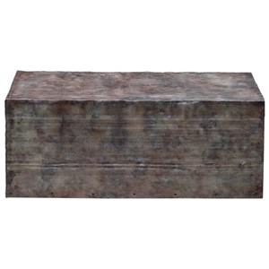 Uttermost Accent Furniture Breck Natural Steel Coffee Table