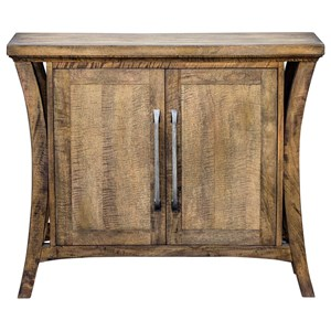 Cary Distressed Console Cabinet