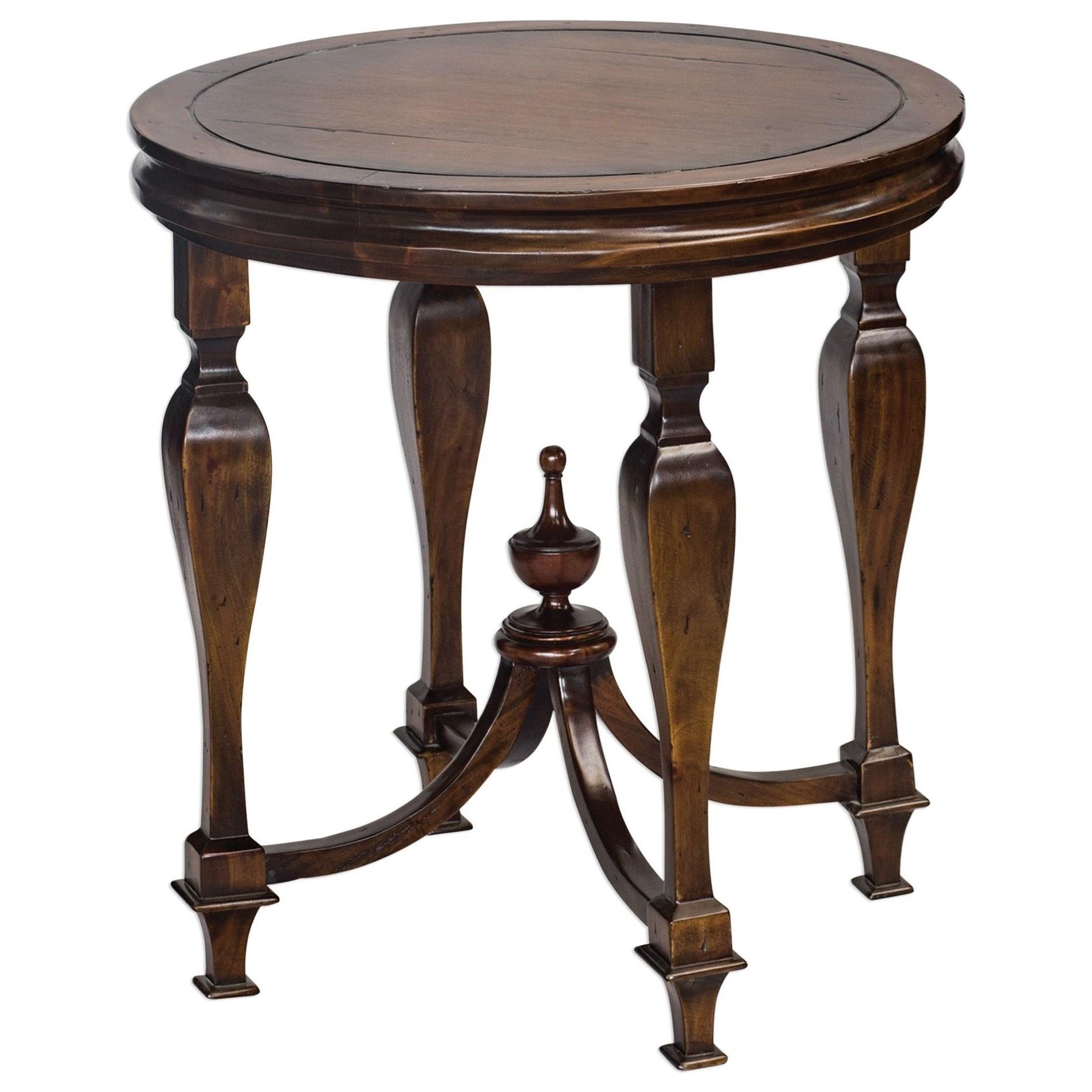 Raymond Mahogany Lamp Table
