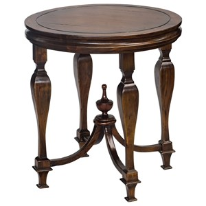 Uttermost Accent Furniture Raymond Mahogany Lamp Table