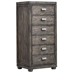Chayton Driftwood Gray Drawer Chest