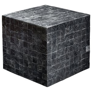 Ayasha Charcoal Accent Table