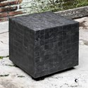 Uttermost Accent Furniture Ayasha Charcoal Accent Table