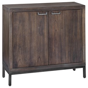 Nadie Light Walnut Console Cabinet