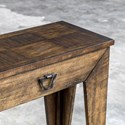 Uttermost Accent Furniture Delara Wood Console Table