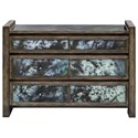 Uttermost Accent Furniture Darcell Gray Wash Accent Chest - Item Number: 25873