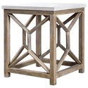 Uttermost Accent Furniture - Occasional Tables Catali Stone End Table - Item Number: 25886