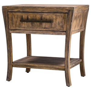Marielle Wood End Table