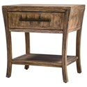 Uttermost Accent Furniture - Occasional Tables Marielle Wood End Table - Item Number: 25890