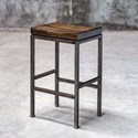 Uttermost Accent Furniture Beck Industrial Bar Stool