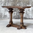 Uttermost Accent Furniture Percy Walnut Bar Table