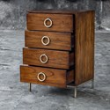 Uttermost Accent Furniture Lucette Honey Drawer Chest