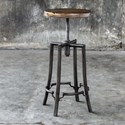Uttermost Accent Furniture Westlyn Industrial Bar Stool