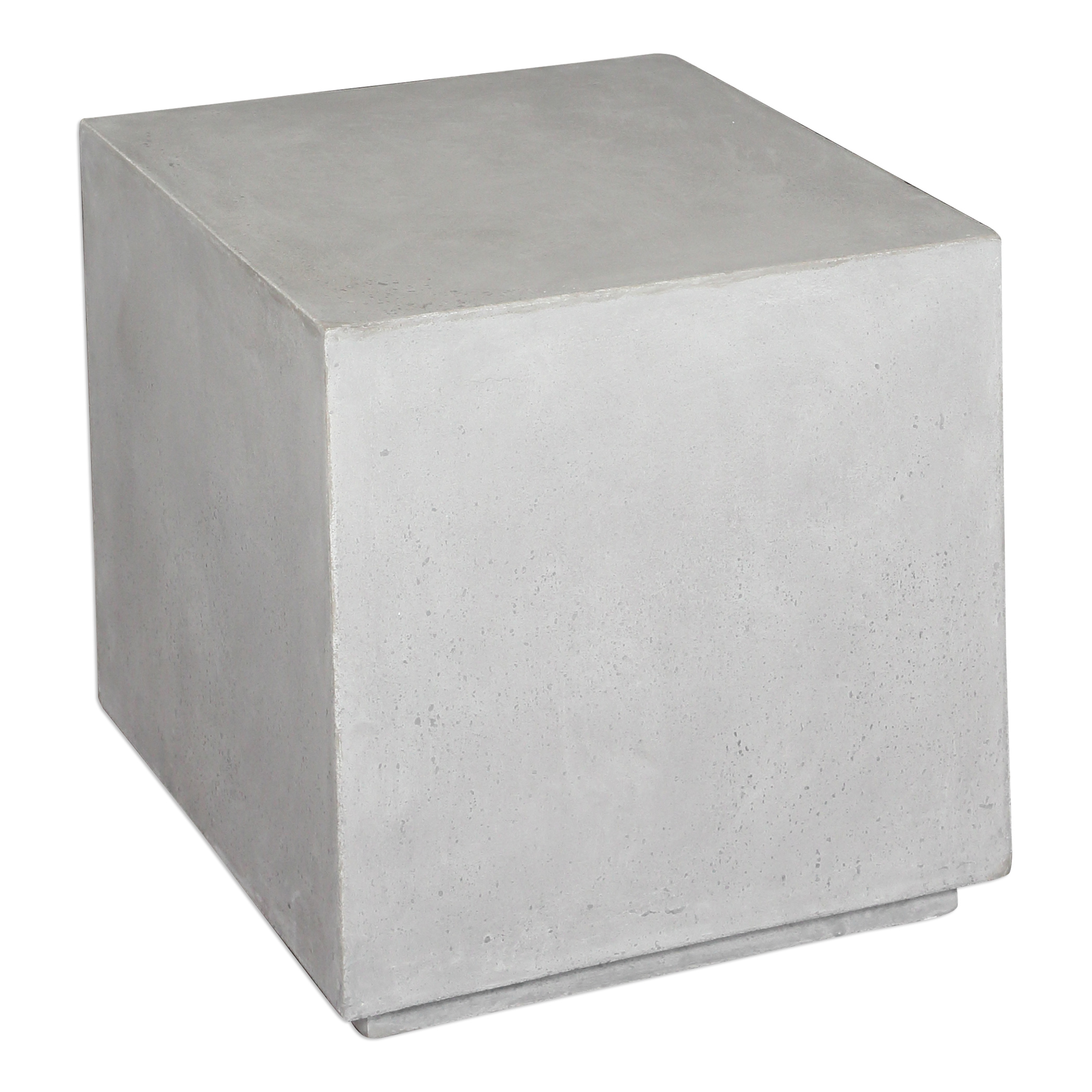 Uttermost Accent Furniture Zaire Industrial Cube Table - Item Number: 25901