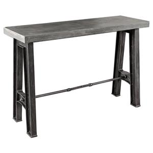 Uttermost Accent Furniture Sade Concrete Console Table