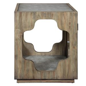 Uttermost Accent Furniture Kuba Square Accent Table