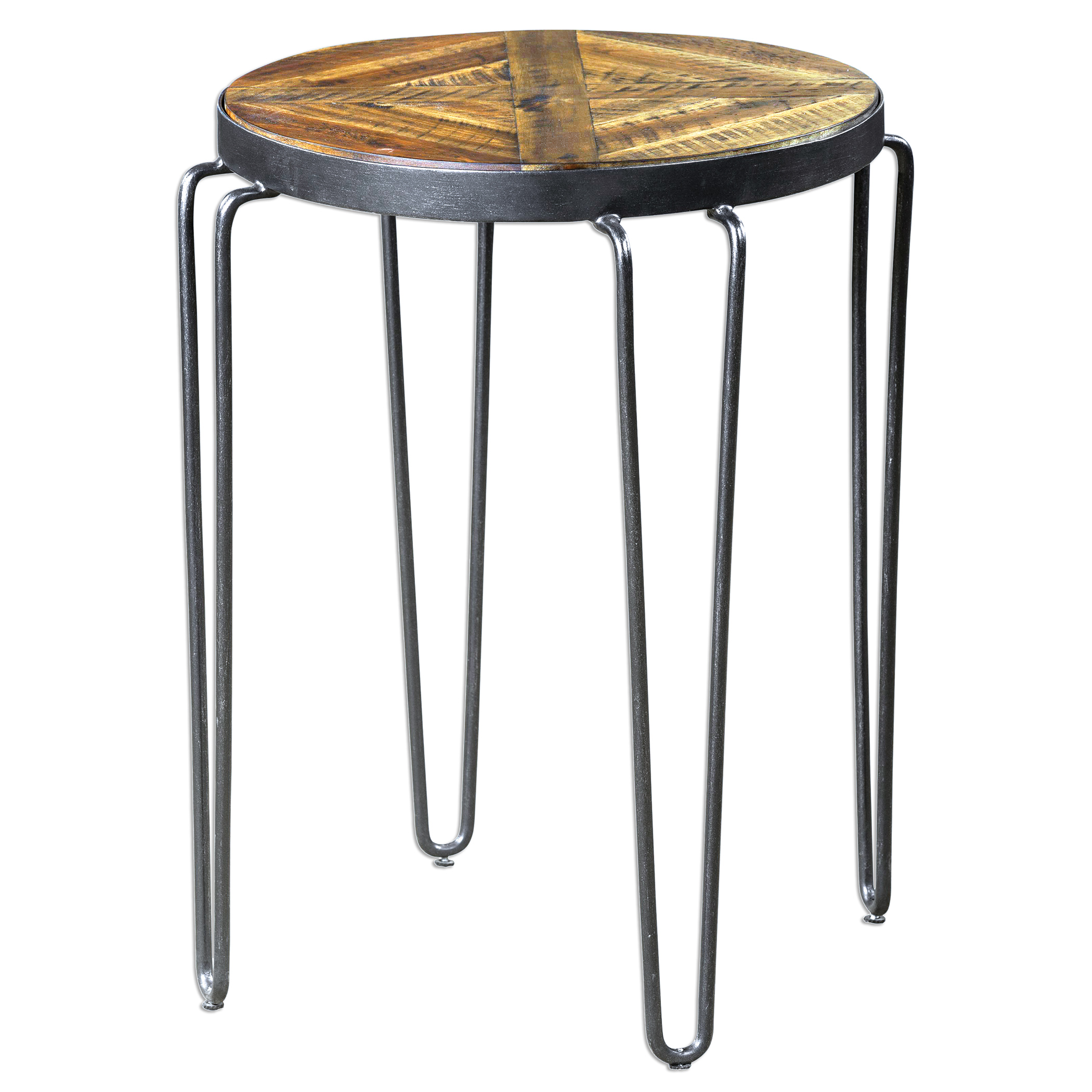 Uttermost Accent Furniture Stelios Round Accent Table - Item Number: 25907
