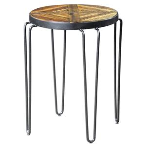 Uttermost Accent Furniture Stelios Round Accent Table