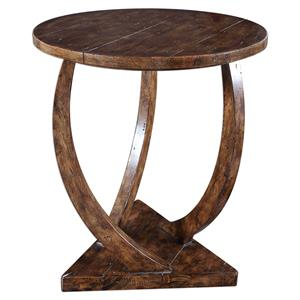 Pandhari Round Accent Table