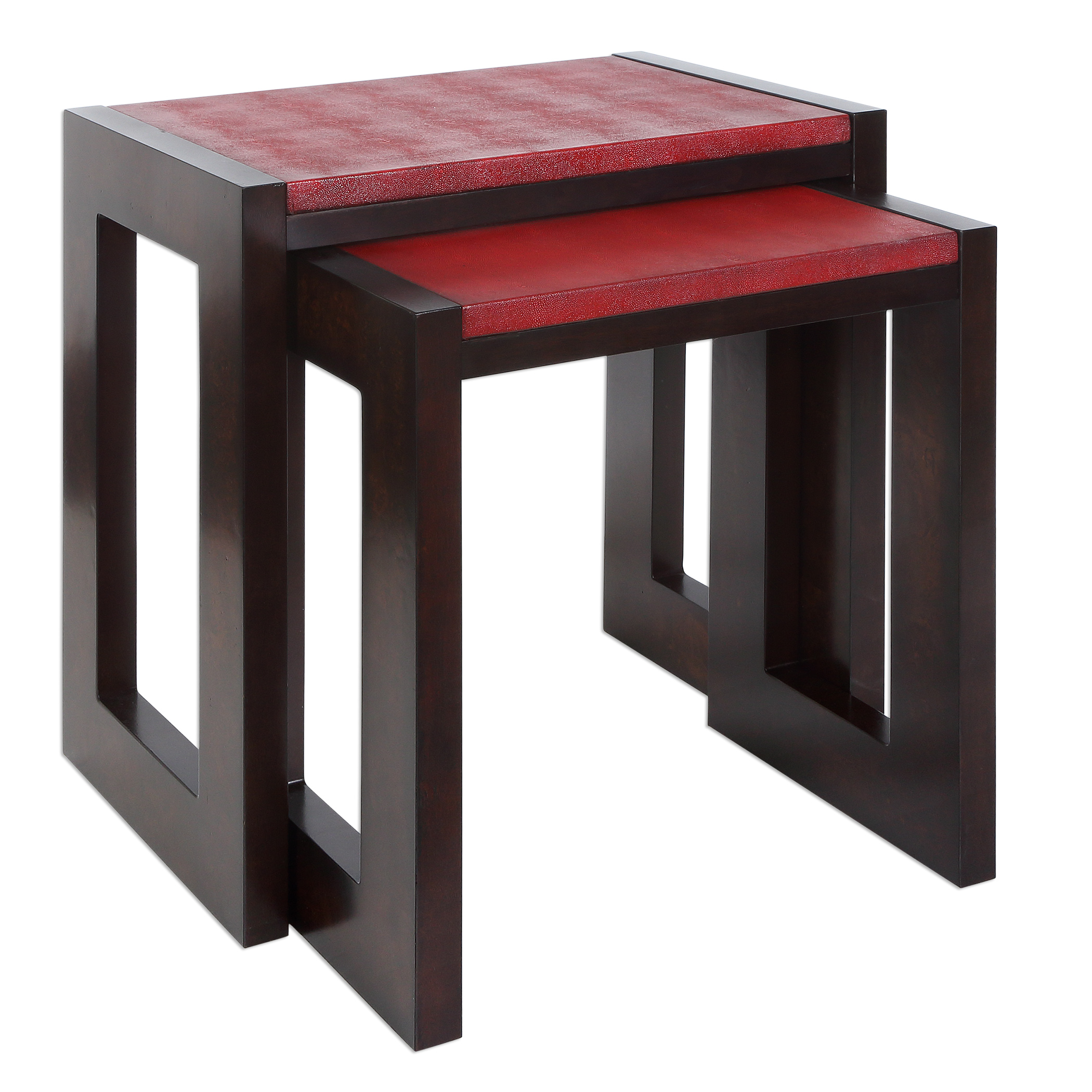 Uttermost Accent Furniture Onni Nesting Tables S/2 - Item Number: 25916