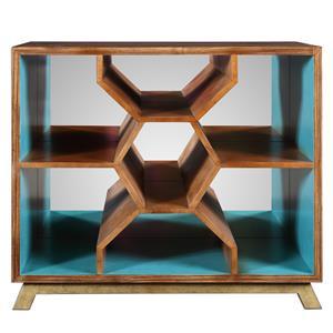Uttermost Accent Furniture Palash Bookcase Console