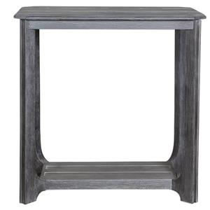 Uttermost Accent Furniture Garroway Wood End Table