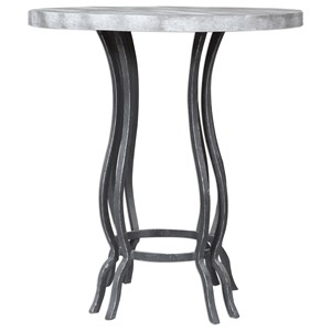 Uttermost Accent Furniture Sashi Concrete Accent Table