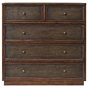 Uttermost Accent Furniture  Clive Walnut Accent Chest - Item Number: 25935