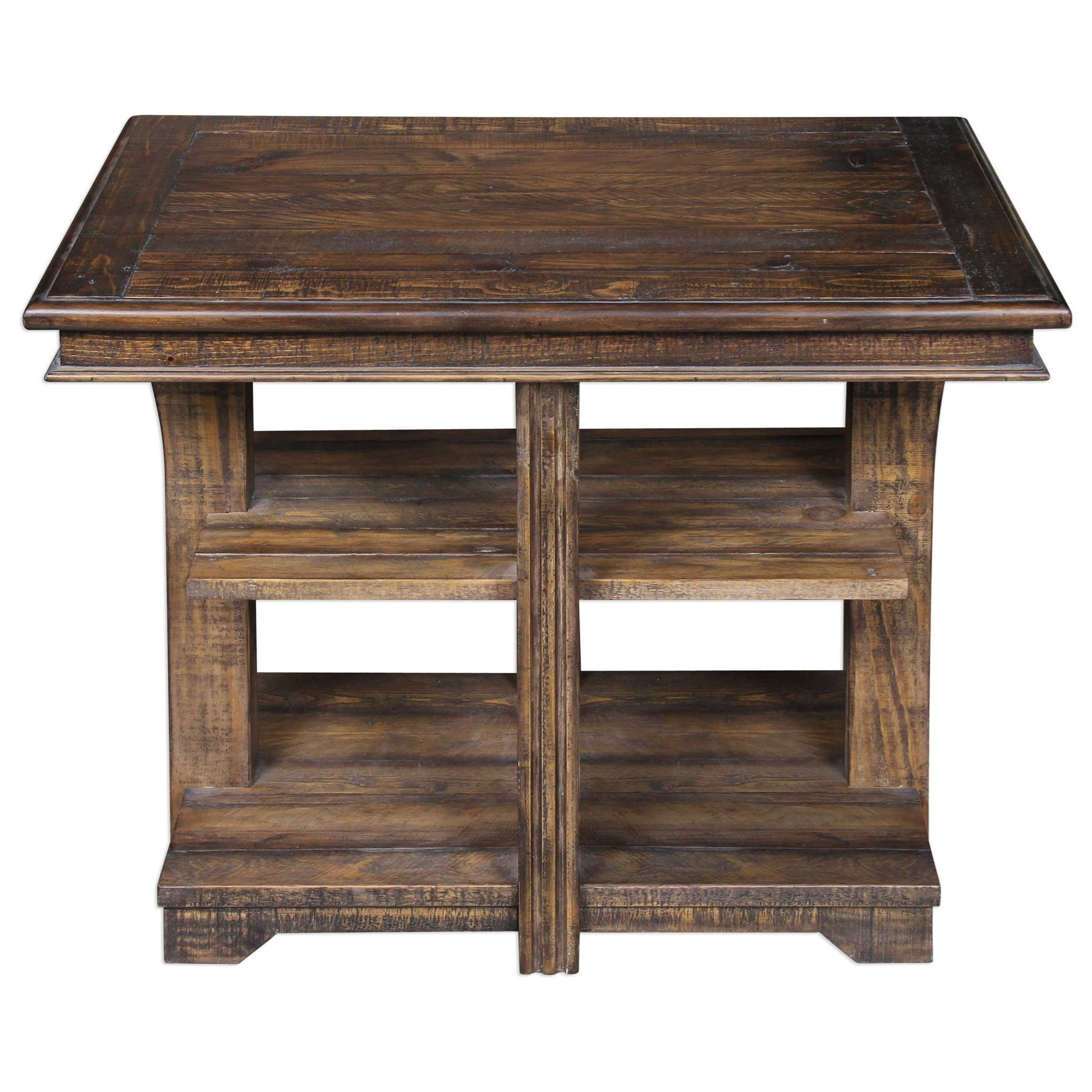 Uttermost Accent Furniture Ramsey Solid Wood End Table - Item Number: 25936