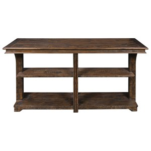 Uttermost Accent Furniture Ramsey Solid Wood Console Table