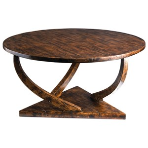 Uttermost Accent Furniture Pandhari Round Coffee Table