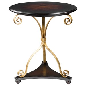 Uttermost Accent Furniture Lanzo Walnut Accent Table