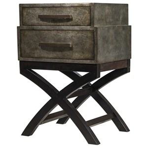 Uttermost Accent Furniture Cambelle Stacked Drawers Accent Chest