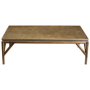 Kanti Metallic Champagne Coffee Table