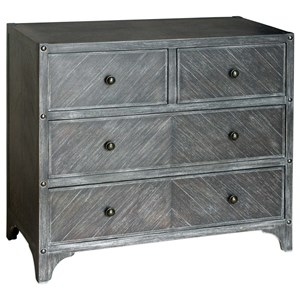 Uttermost Accent Furniture Brishen Gray Accent Chest