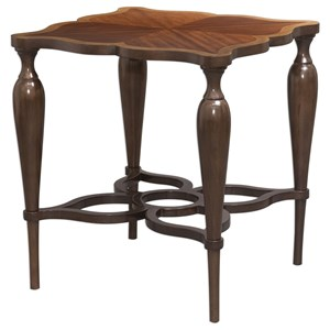 Uttermost Accent Furniture Varatella Kara Wood Accent Table