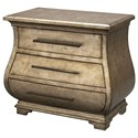 Uttermost Accent Furniture Chiana Champagne Bombe Chest - Item Number: 25974